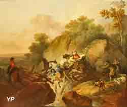 Rupture d'un pont (François Joseph Casanova)