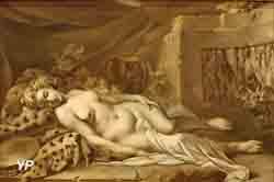 Bacchante endormie (Jean-Baptiste Marie Pierre)