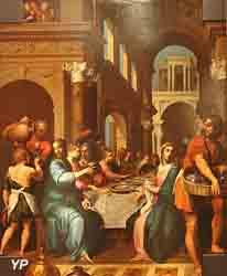 Le Christ aux noces de Cana (Quentin Varin)
