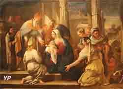 La présentation au temple (Lucas Giordano)