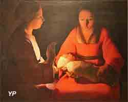 Le nouveau-né (Georges de La Tour)
