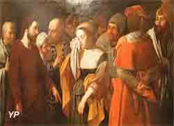 La femme adultère (Johann Ulrich Loth)