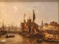 Vue du port d'Anvers (Johann-Barthold Jongkind)