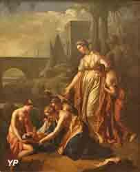 Moïse sauvé des eaux (Adriaen van der Werff)