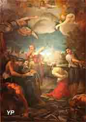 Le martyre de saint Pierre et de saint Paul (Ludovico Caracci)