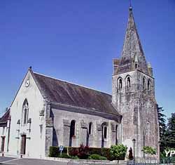 Église Saint-Antoine (mairie de Thilouze)