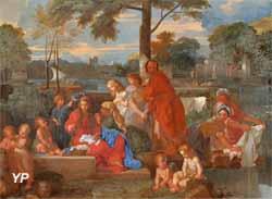 Le repos de la Sainte Famille (Sébastien Bourdon)