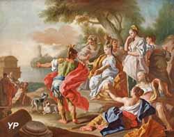 Le départ d'Enée (Francesco de Mura)