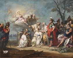 Le Sacrifice d'Iphigénie (Jacopo Amigoni)