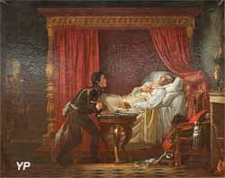 La mort du général Moreau (Auguste Couder)