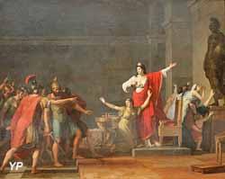 Cassandre et Olympias (Jean Joseph Taillasson)