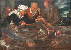Etal de poissons (attribué à Guiseppe Recco)