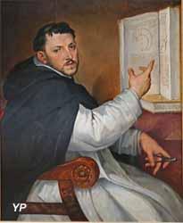 Portrait d'Egnazio Danti (Bartolomeo Passerotti)