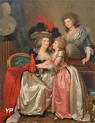 Portrait de la famille Bergeret de Grandcourt (Jean-Laurent Mosnier)