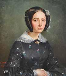 Portrait présumé de madame de Kergariou (Félix Barret)