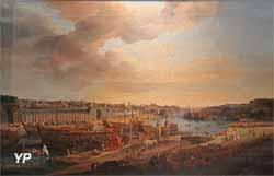 Vue du port de Brest (Louis-Nicolas van Blarenberghe)