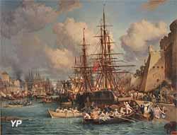 Le port de Brest (Jules Noël)