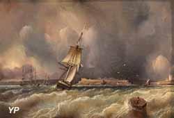Vue de Brest, prise de la rade