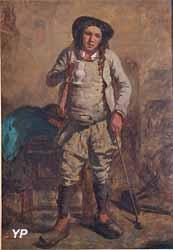 Breton au cabaret (Edmond Milcendeau)