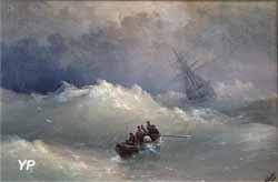La vague (Ivan Konstantinovitch Aïvazovski)