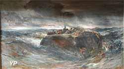 Le naufrage de l'Emily (Eugène Isabey)