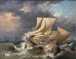Scène de naufrage (Louis-Philippe Crépin)