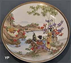 Assiette en porcelaine (Japon, XIXe siècle)