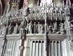 Clôture du choeur de la cathédrale Notre-Dame de Chartres