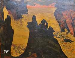 La mer jaune, Camaret (Georges Lacombe)