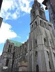 Tour Nord de la cathédrale Notre-Dame de Chartres