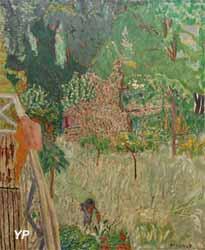 Le pommier fleuri ou Le balcon à Vernonnet (Pierre Bonnard)