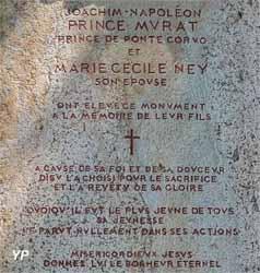 Tombe du prince Murat