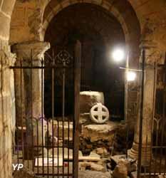 Crypte - fouilles