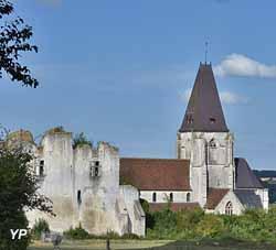 Château et collégiale Saint Martin