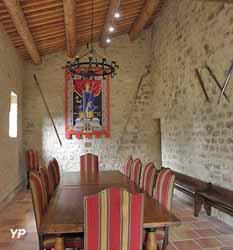 Logis seigneurial : salle Saint Louis