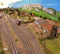 Maquette Ferroviaire (Mairie de Saint-Jean-le-Centenier)