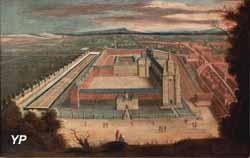 Peinture Abbaye de St Amand, 17e
