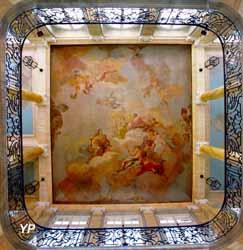 Fresque du péristyle - apothéose de Maximilien