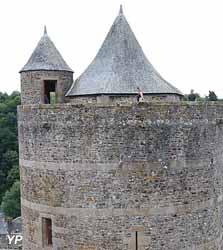 Château de Fougères - tour Mélusine