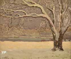 Solitude hivernale (Emmanuel de la Villéon)