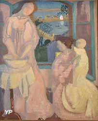 Figures à la fenêtre verte, Perros (Maurice Denis, 1897)