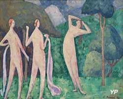 Les Baigneuses (Emile Bernard, 1890)