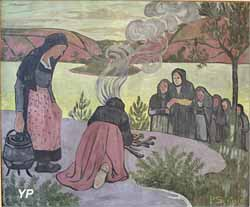 Le Feu dehors ou Mammen (Paul Sérusier, 1893)