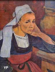 Portrait de Marie Lagadu (Paul Sérusier, 1889)