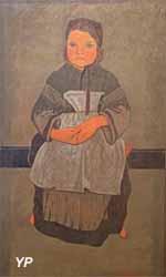 Petite Bretonne assise (Paul Sérusier, 1895)
