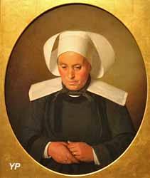 Portrait de Marie-Anne Herlédan (Hermanus-Franciscus Van den Anker, 1883)