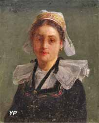 Jeune fille de Pont-Aven (Henry Mosler, 1889)