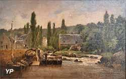 Le Port de Pont-Aven (Gaston Roullet, 1878)