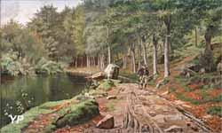 Le Bois d'Amour à Pont-Aven (Marie Luplau, 1883)
