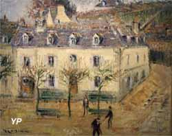 L'Hôtel Julia à Pont-Aven (Gustave Loiseau, 1928)